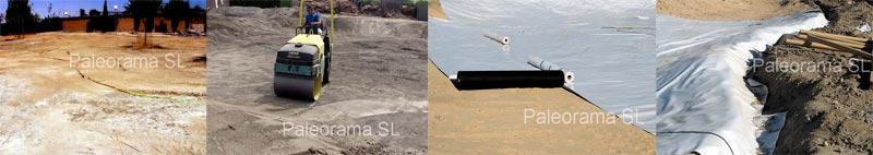 montaje del lago en arqueopinto