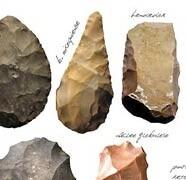 Tipología lítica del paleolítico para la Complutense