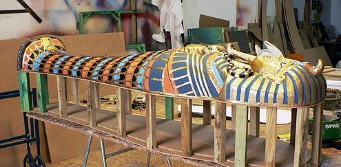 taller Egipto papiros momificación Arqueopinto