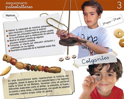 taller adorno cuentas neolítico prehistoria Arqueopinto