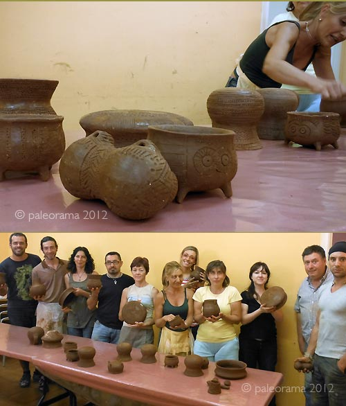 replicas ceramica prehistorica paleorama