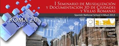 Paleorama en el Seminario 3D sobre villas romanas