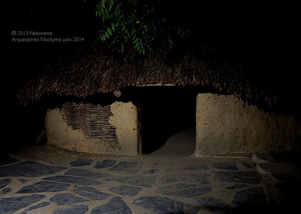 Visitas nocturnas prehistoria Arqueopinto Madrid julio 2014
