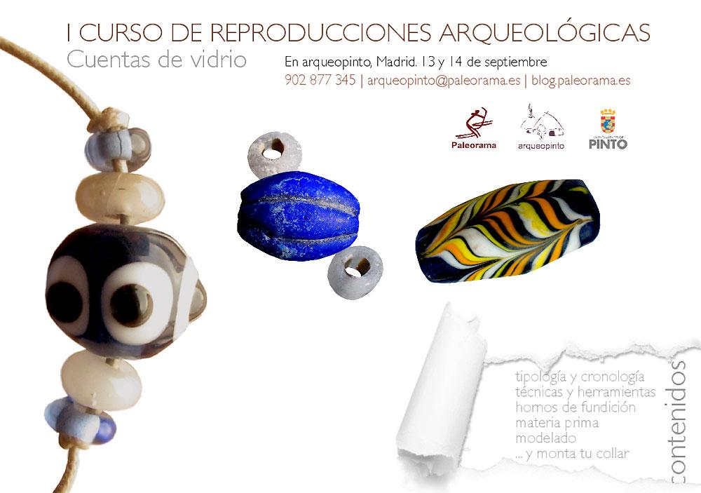 paleorama curso cuentas de vidrio fenicias arqueologia