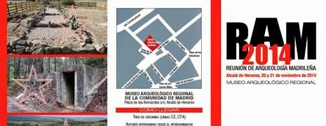Paleorama en la Reunión de Arqueología Madrileña