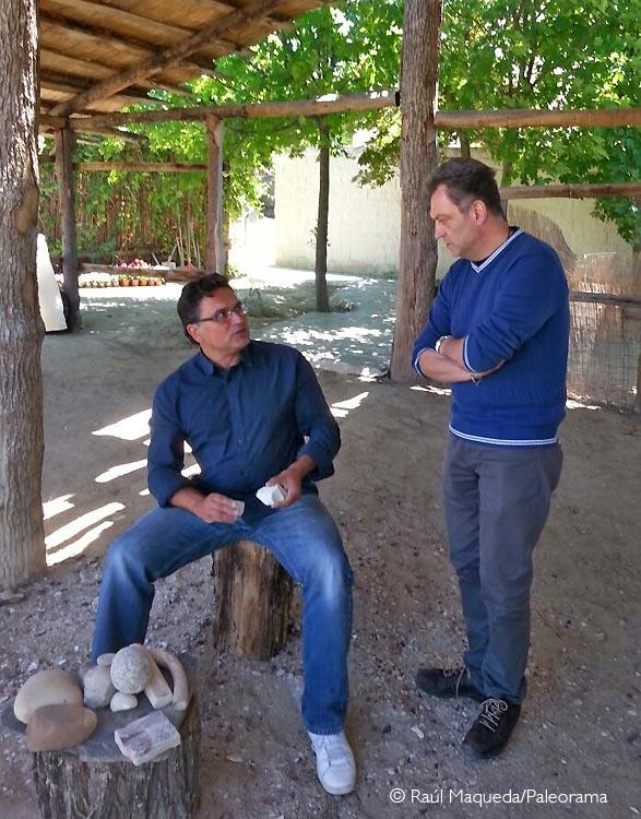 MAnuel Martin Loeches MAnuel Luque Cortina microlitos arqueología experimental