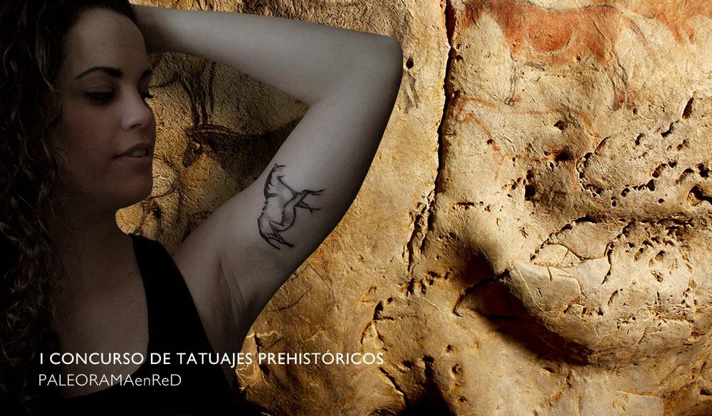 concurso paleorama tatuaje prehistoria