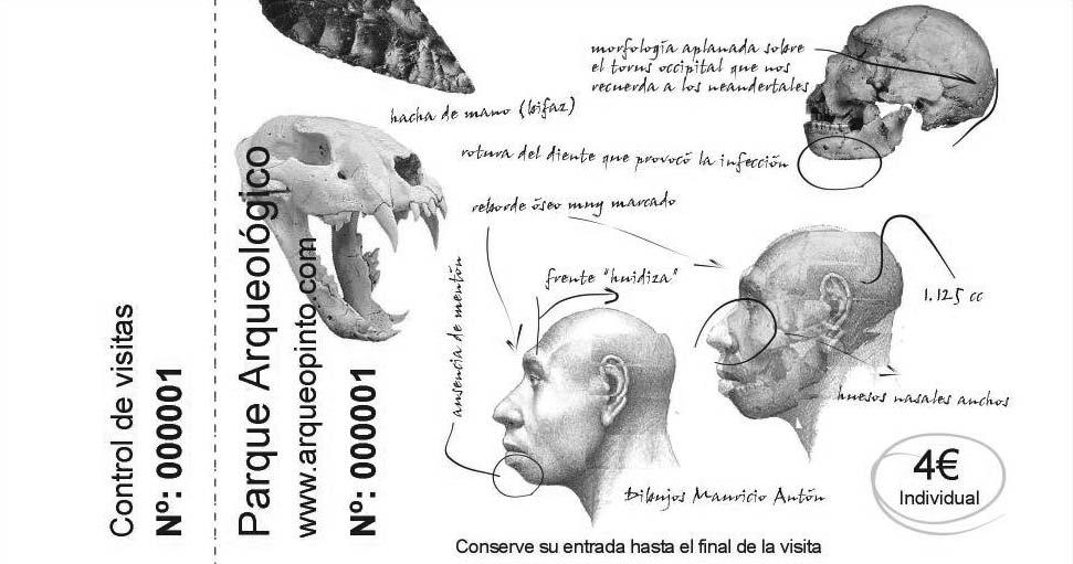 Entrada pendiente, arqueopinto, paleorama prehistoria solidaria