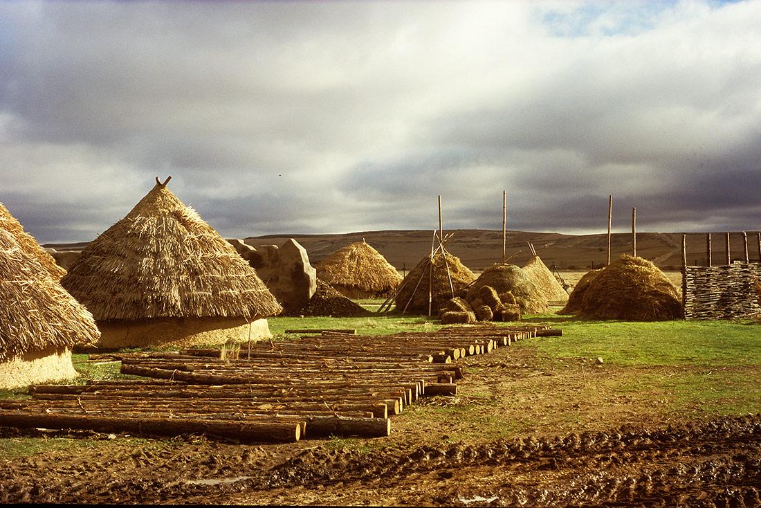 Montaje parques arqueológicos